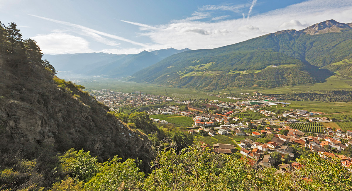 Schlanders, centre of the Vinschgau Valley